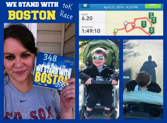 The The We Stand with Boston 10K Walk ~ #WeStandWithBoston #BostonStrong