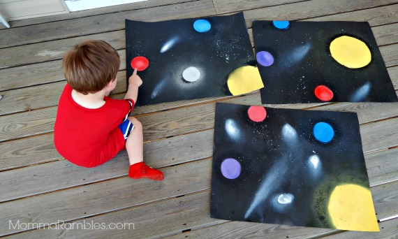 Galactic Space Art For Your Lil Guardian! ~ Inspired by @Marvel's #GuardiansOfTheGalaxy @Guardians