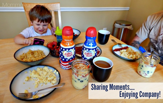 Enjoying Precious Moments with America's Heroes Thanks to Nestle Coffee-mate ~ #CMSalutingHeroes #CollectiveBias
