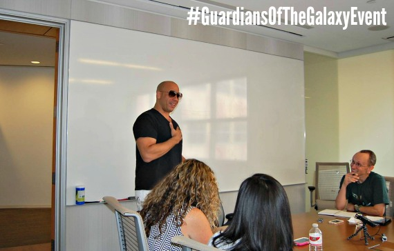 Chatting Groot with Vin Diesel: The Man Behind My Favorite Marvel Tree ~ #GuardiansOfTheGalaxyEvent
