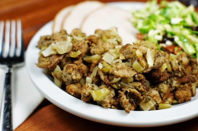 Slow Cooker Stuffing 3