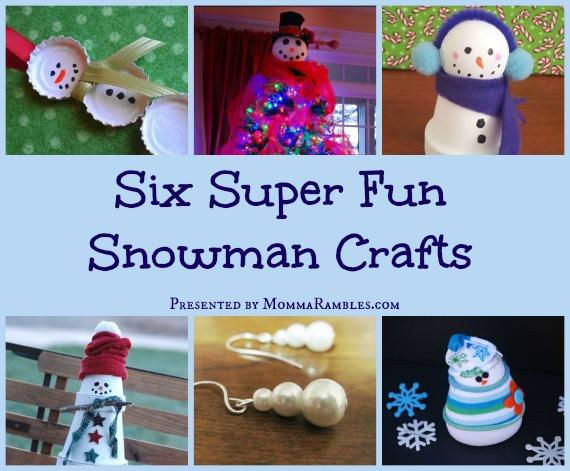 SnowmanCraftsCollage