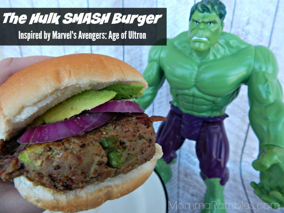 The Hulk SMASH Burger ~ #Recipe Inspired by #Avengers #AgeofUltron