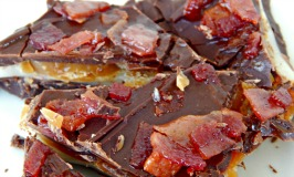 Chocolate Caramel Bacon Candy #Recipe!