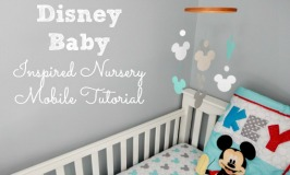 Disney Baby Inspired Nursery Mobile Tutorial