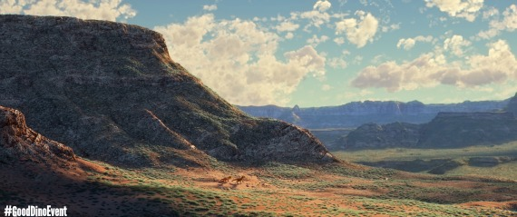 THE GOOD DINOSAUR (Pictured) The T-Rexes. ©2015 Disney•Pixar. All Rights Reserved.