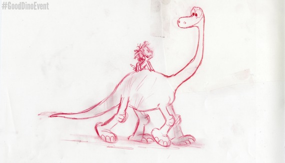 THE GOOD DINOSAUR - Arlo character study by Matt Nolte. ©2015 Disney•Pixar. All Rights Reserved.