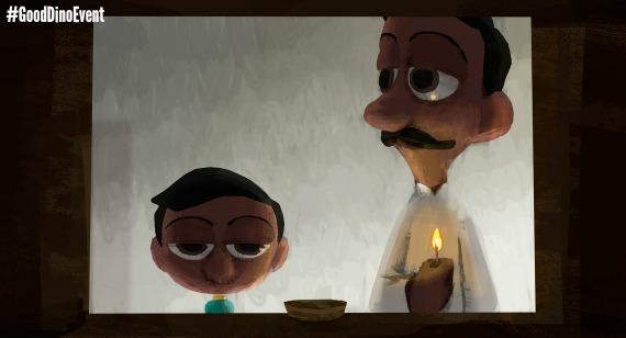SANJAY'S SUPER TEAM –Concept Art by Paul Abadilla (Artist). ©2015 Disney•Pixar. All Rights Reserved.