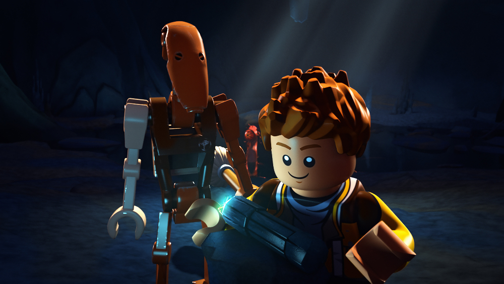 """LEGO STAR WARS: THE FREEMAKER ADVENTURES - Introducing new heroes and villains to the LEGO Star Wars universe, the animated television series """"LEGO Star Wars: The Freemaker Adventures"""" will premiere MONDAY, JUNE 20 (10:00 a.m. EST) on Disney XD. (Disney XD)"""