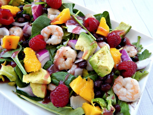 ... delicious summer salad. Perfect for an evening of al fresc0 dining