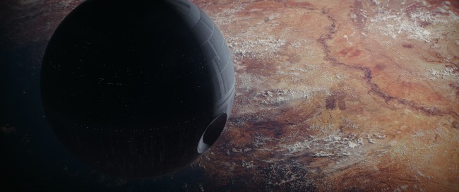 Rogue One: A Star Wars Story The Death Star Ph: Film Frame ILM/Lucasfilm ©2016 Lucasfilm Ltd. All Rights Reserved.