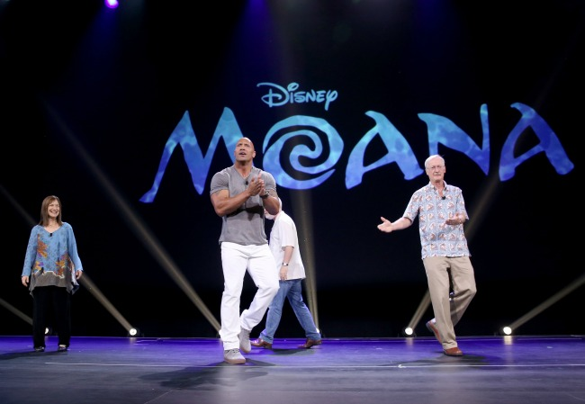 """ANAHEIM, CA - AUGUST 14: XXX of FILM TITLE took part today in """"Pixar and Walt Disney Animation Studios: The Upcoming Films"""" presentation at Disney's D23 EXPO 2015 in Anaheim, Calif. (Photo by Jesse Grant/Getty Images for Disney)"""