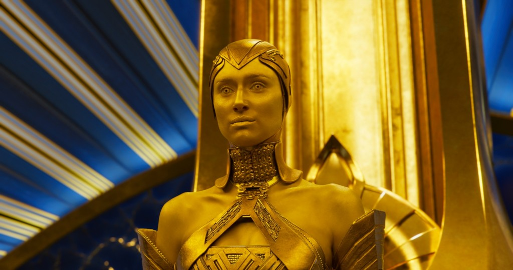 Guardians Of The Galaxy Vol. 2 Ayesha (Elizabeth Debicki) Ph: Film Frame ©Marvel Studios 2017