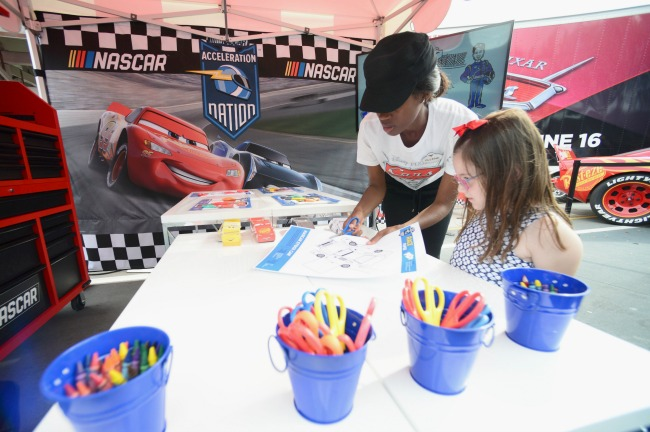 """CARS 3 """"Road to the Races"""" Nationwide Tour on March 23, 2017 in Orlando, Florida."""