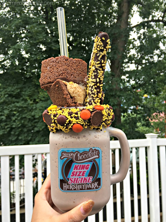 Treat Yourself To A Sweet King Size Shake At Hersheypark
