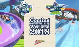 Breakers Edge Water Coaster and Whitecap Racer Debut at The Boardwalk At @Hersheypark in 2018 ~ #Hersheypark2018