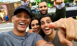ALADDIN Selfie of New Cast Members! ~ #Aladdin