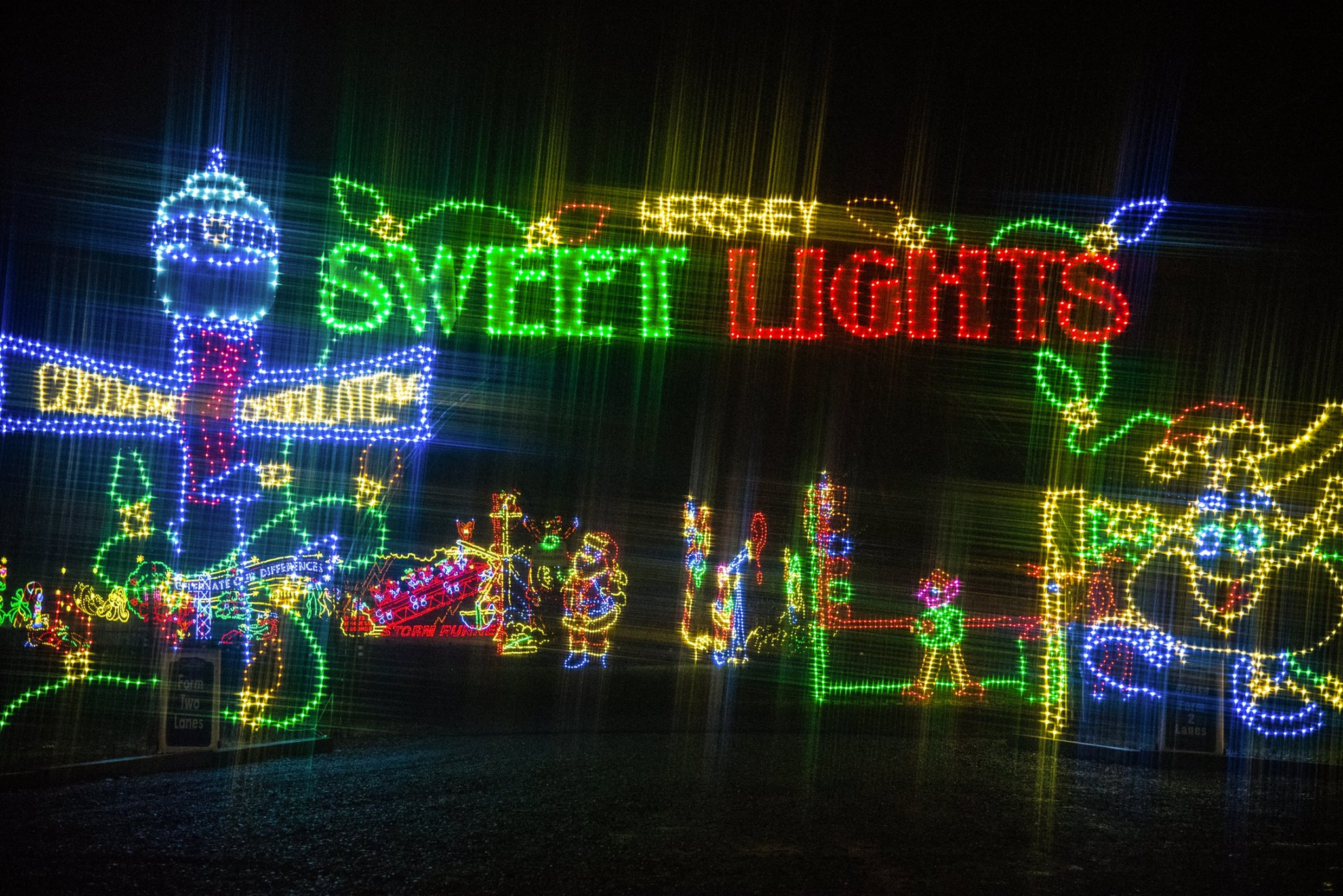 Hershey Christmas Lights