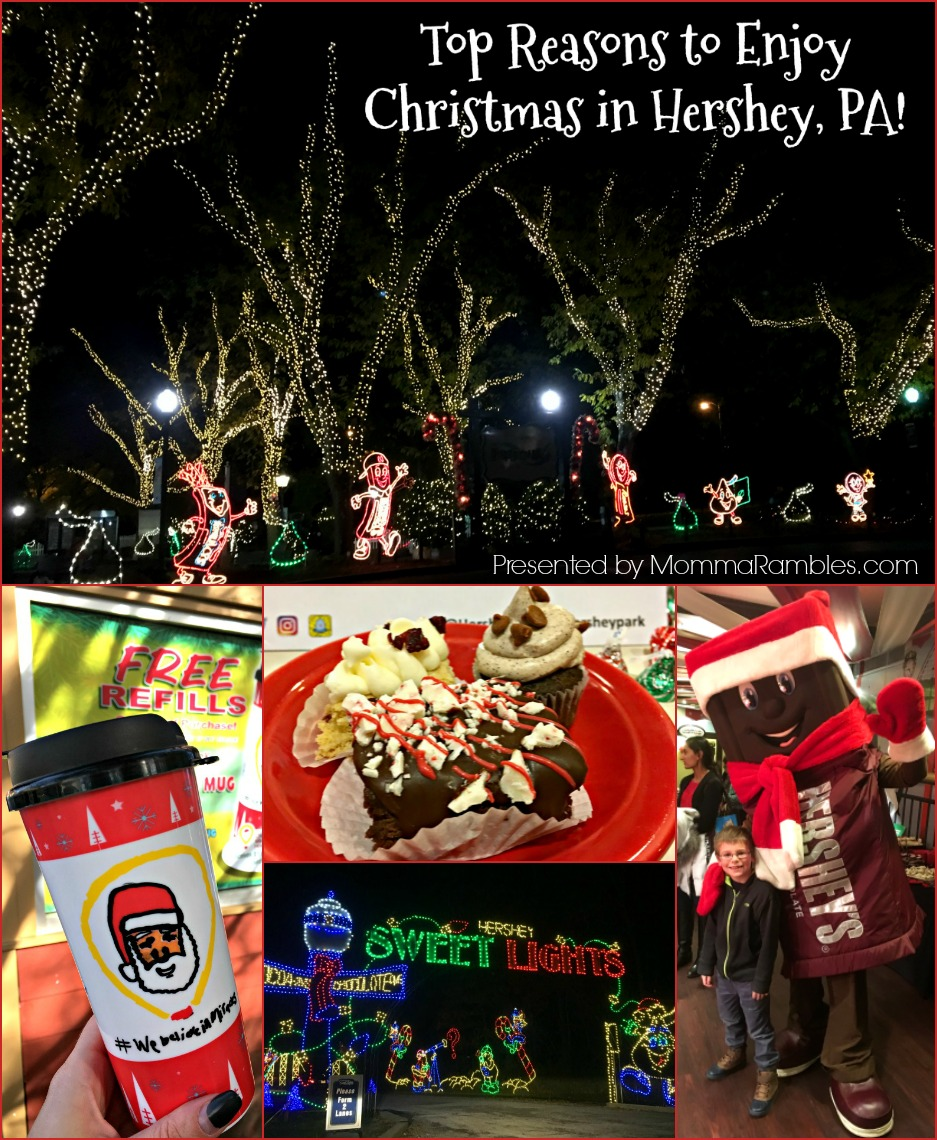 top reasons to enjoy christmas in hershey pa