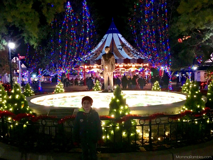 back on november 10 the christmas candylane holiday attraction at hersheypark amusement park opened you can visit christmas candylane on select dates