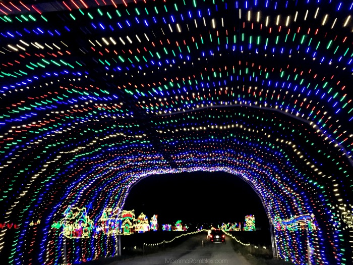 this was the perfect way to end our evening after the excitement of christmas candylane you stay right in the warmth of your car hershey sweet lights - Hershey Christmas Lights