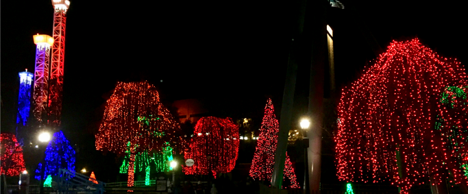 Christmas Comes to #HersheyPA!