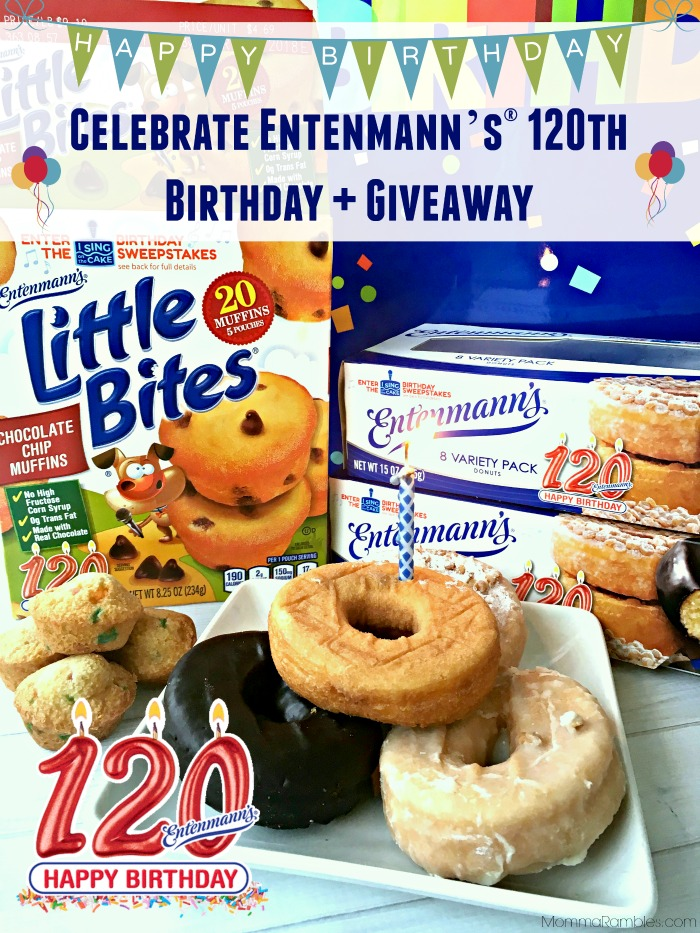 Celebrate Entenmann's® 120th Birthday + #Giveaway - Maryland