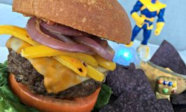 The Mad Titan Burger: Inspired by Marvel's AVENGERS: INFINITY WAR ~ #InfinityWar