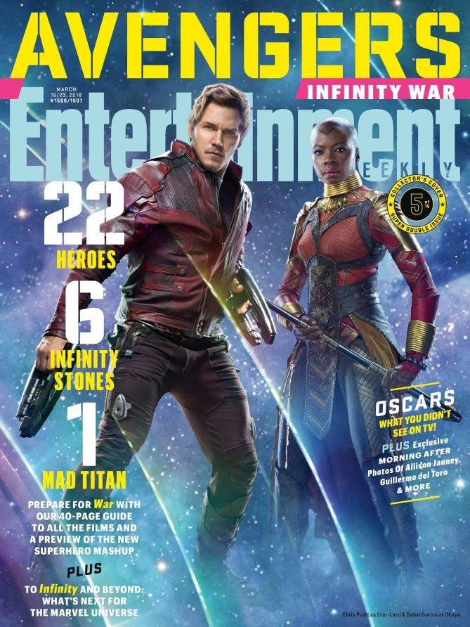 New Entertainment Weekly AVENGERS Covers! ~ #InfinityWar ...