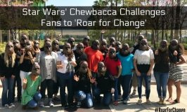STAR WARS' Chewbacca Wants You to 'Roar for Change' and Make a Difference! ~ #StarWars #RoarForChange