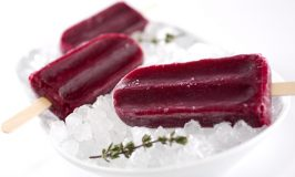 Hibiscus Blueberry Popsicle Recipe for Summer