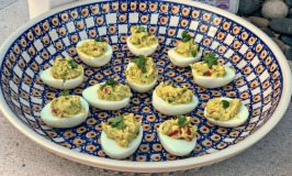Guacamole Deviled Eggs Recipe + Eggland's Best Family Meals Pledge