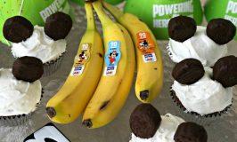 DOLE®'s Coco-Nana Birthday Cupcakes for Mickey's 90th Birthday Celebration ~ #Mickey90