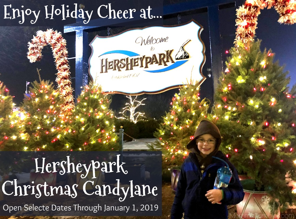 Hershey Park Christmas.Enjoy Holiday Cheer At Hersheypark Christmas Candylane