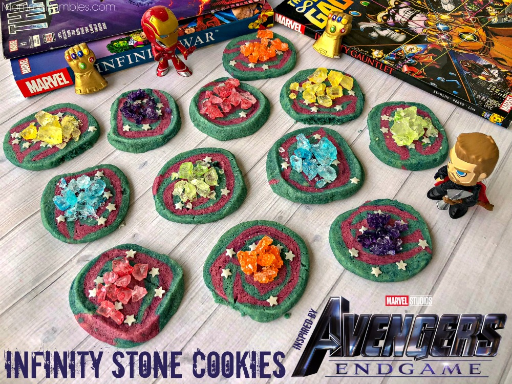 Infinity Stone Cookies Inspired By Avengers Endgame