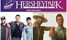 Luke Bryan and Florida Georgia Line Come to Hersheypark Stadium This Summer ~ #HersheyPA