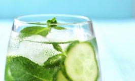 Cucumber Lime & Basil Prosecco Spritzer