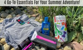 4 Go-To Essentials For Your Summer Adventure!